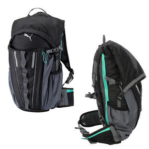 Puma PR Night Cat Powered Backpack Mens Rucksack Bag Black 072862 01 ... e04dabafc5687