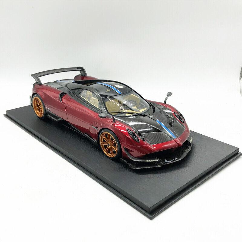 oferta especial 1 18 18 18 Pagani Huayra BC Hyper TSM HyperCoche Modelo de Resina de Coche Negro Rojo Collection  Ahorre 35% - 70% de descuento