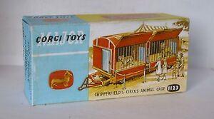 Repro box CORGI Nº 1123 CHIPPERFIELDS animal cage  </span>