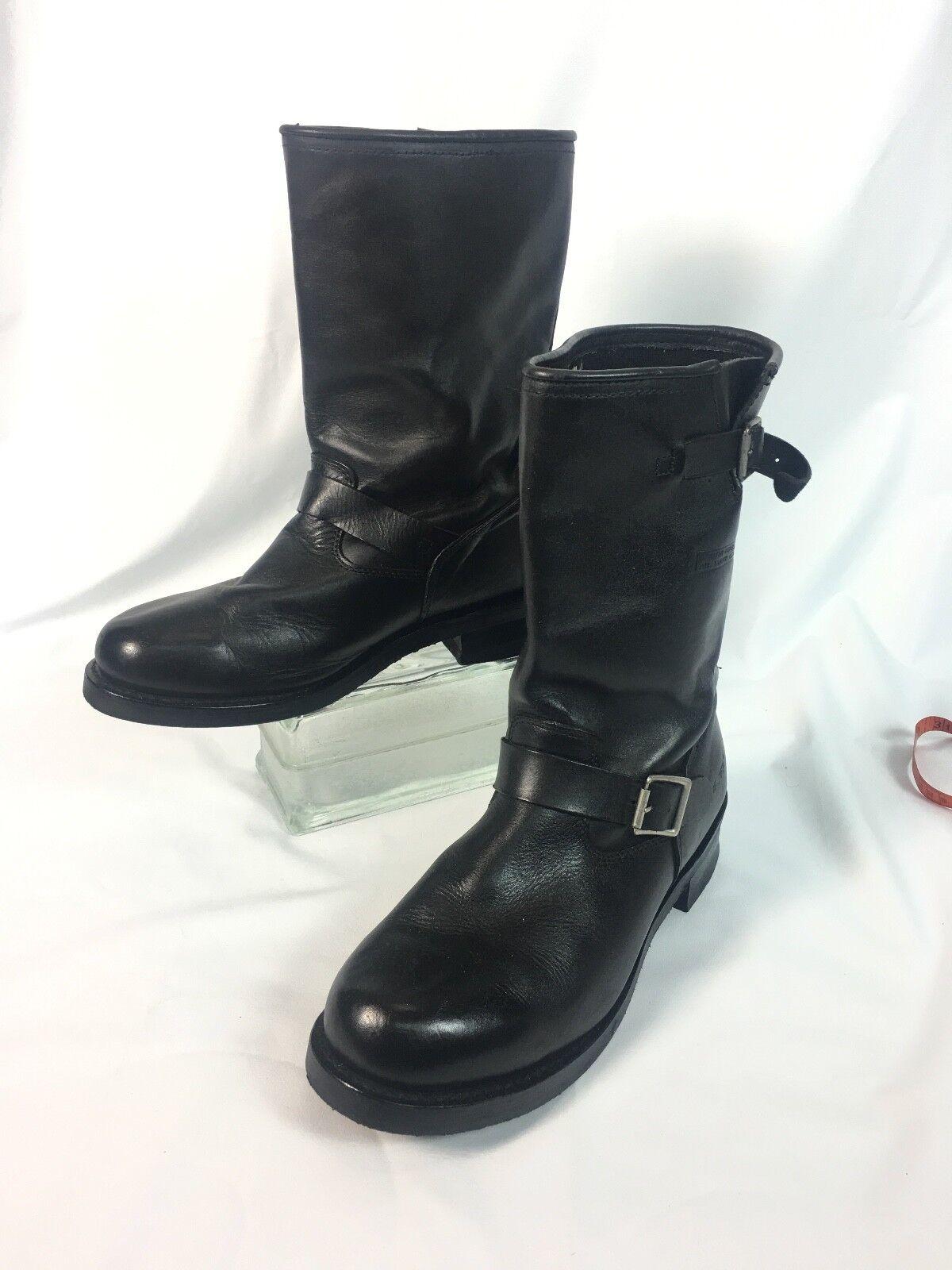 AdTec  Boots - Lineman, Logger, Biker Buckle Boots 13W