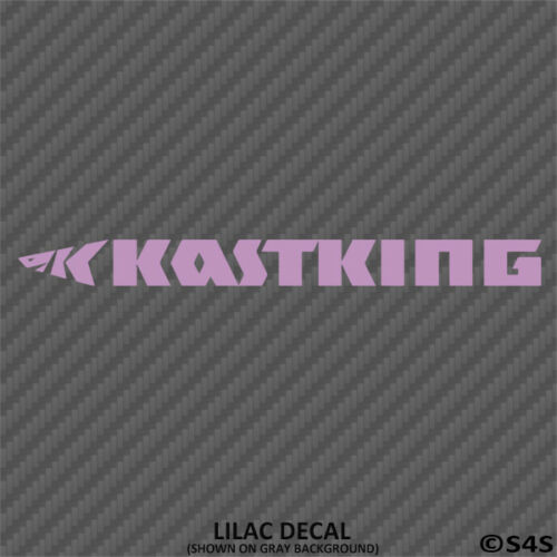 Choose Color KASTKING Fishing Tackles Decal Outdoors Sports /& Gears V2