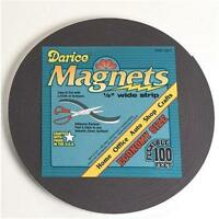Darice Adhesive Magnetic Tape Roll 1/2 X 100' Magnet Strip Home Or School