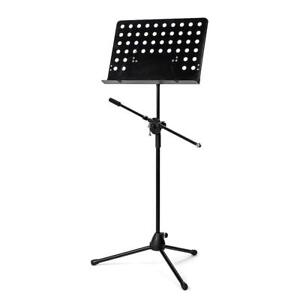 Music-Conductor-Stand-Adjustable-Metal-Sheet-Tripod-Holder-Microphone-Holder