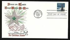 #1240 5c Christmas'63 ( Cristmas Tree & White House) Fleetwood FDC
