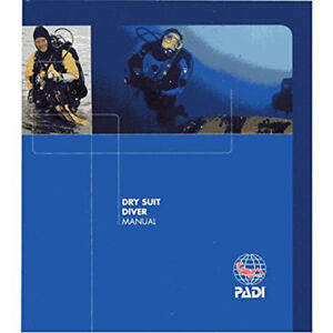 Padi-Specialty-Dry-Suit-Diver-Manual-Scuba-Diving-Book-Scuba-Dive