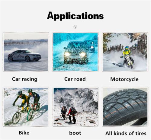 100 Pcs Car Autos Winter Necessary Tires Studs Spikes Wheel Snow Chains 12-9-1mm