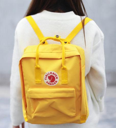 7L/16L/20L unisex Fjallraven Kanken Backpack Travel spalla scuola borse Marca 2