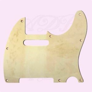 Pickguard-Telecaster-Relic-1ply-8H-62-039-s-Aged-White-Tele-MIJ-PGT1W-Aged