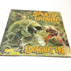Savoy-Brown-039-Looking-In-039-SKL5066-UK-1st-Press-1W-1W-Vinyl-LP-VG-VG-Nice-Copy