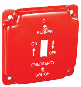 Image Is Loading New 4x4 4 034 Red Emergency Oil Burner