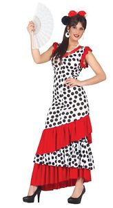 0086a1d5bf24 La imagen se está cargando Damas-Sexy-Espanol-Bailarina-De-Flamenco-en-todo-
