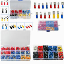 102 1200pcs Insulated Wire Splice Terminals Spadecrimpring Connector Kit