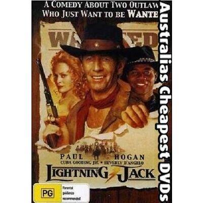 Lightning Jack DVD NEW, FREE POSTAGE WITHIN AUSTRALIA REGION 1&4