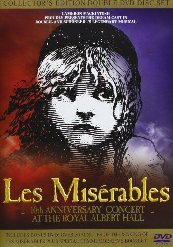 1 of 1 - Les Miserables 10th Anniversary Concert At The Royal Albert Hall (2 Disc Coll.