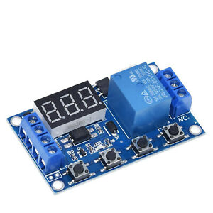 DC-5V-36V-Relay-Module-Delay-Timer-Control-Turn-ON-OFF-Switch-LED-Display
