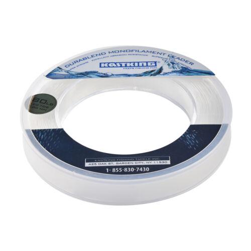 KastKing DuraBlend Monofilament Leader Line 110m Tippet /& Leader Fishing Line
