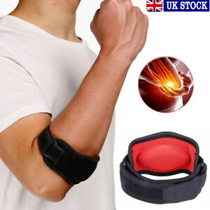 Tennis-Elbow-Support-Brace-Golfers-Strap-Epicondylitis-Arthritis-Band-RSI-Clasp