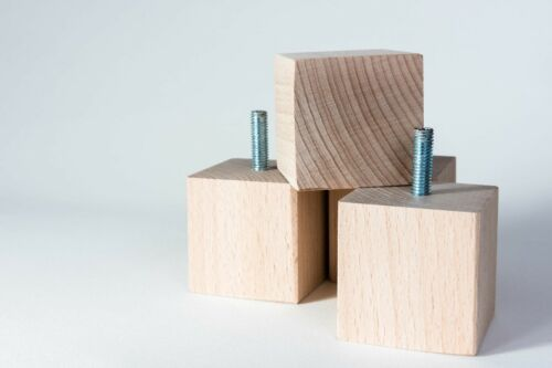 stools,chest etc...M8 New 4 x wooden furniture feet// legs for sofa chairs