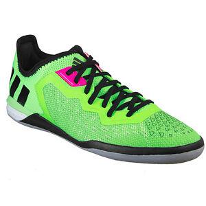 ca8c73515 Adidas Men s ACE 16.1 Court Indoor Soccer Shoes SGreen CBlk NgtMet ...