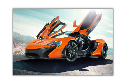Supercar Mclaren P1 Poster Prints Wall Decoration Art Gloss Pictures