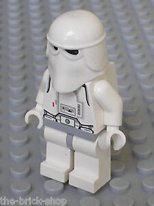 Personnage lego star wars minifig snowtrooper set 7749 8084 7666 4483 4504 ebay - Lego star wars personnage ...