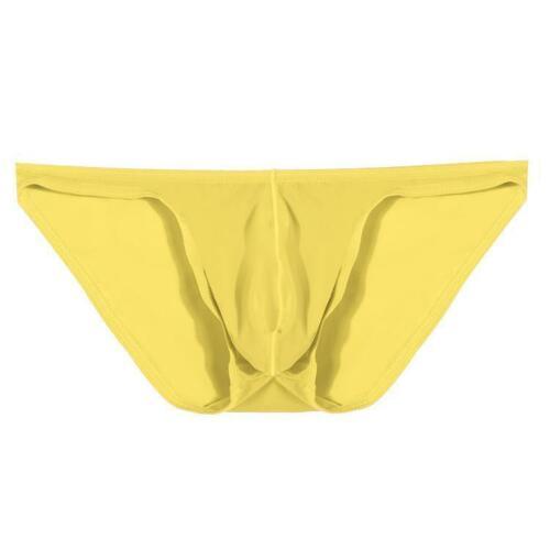 Männer kurze atmungsaktiv Eis Seide Dreieck Unterhose Solid Brief FLTO 02