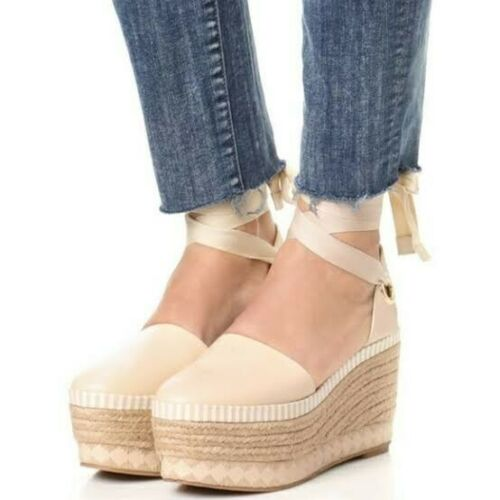 Tory Burch Dandy Espadrille Wedges US 9