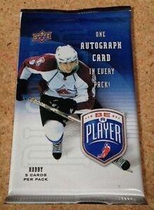 2009-10-UD-Be-A-Player-Hockey-HOBBY-Pack-1-Auto-John-Tavares-Crosby-Kane