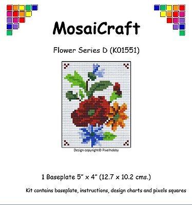 Mosaicraft pixel Craft MOSAICO Art Kit /'Robin/' pixelhobby