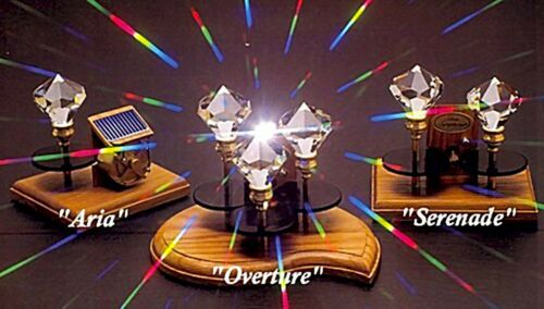 Silent Symphony Rainbow Maker-TRIPLE Crystal-Overture SS-3 Solar Powered