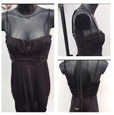 ❣️Dorothy Perkins Adjustable Strap Strappy Dress Uk Size 12 Euro 40 Black