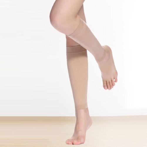 1 Paar Enge Kalb Ärmel Unterstützung Schlankheitspackungen Hautfarbe