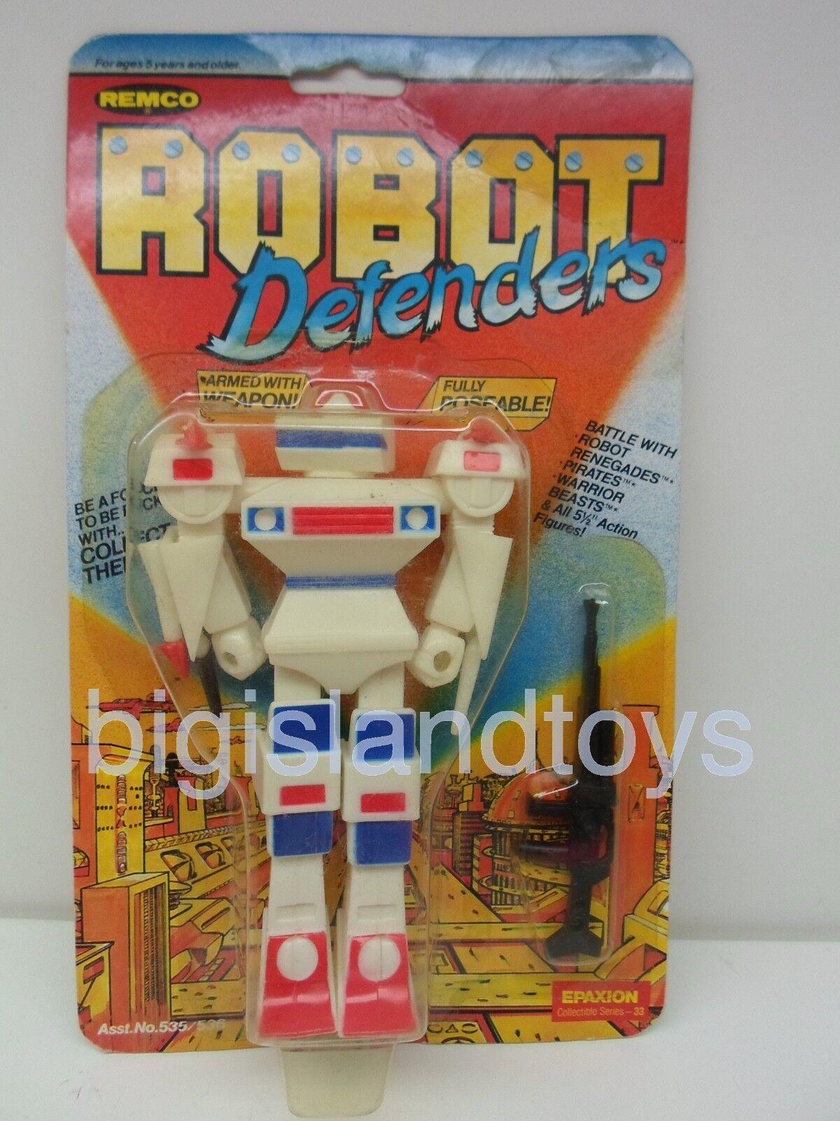 Robot defensores & Renegades Remco epaxion 1982 Figura de Acción Sellados