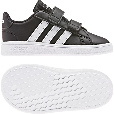 Adidas Chaussures Enfants Baskets Mode École Grand Cour 70s Bébés Bébé EF0117   eBay