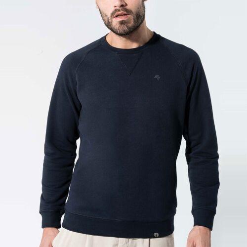 Pliant k480 Bio Coton Organic Sweatshirt Pull companieer Pull Bleu Navy