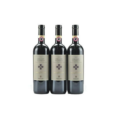 3--Bottles  2012 Cecchi Chianti Classico---JS 91 Points