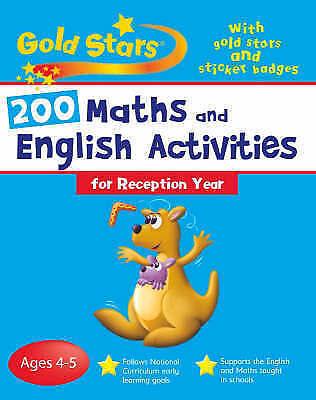 Goldstars Bumper Workbook 200 Maths and English Activities Reception (Gold Stars