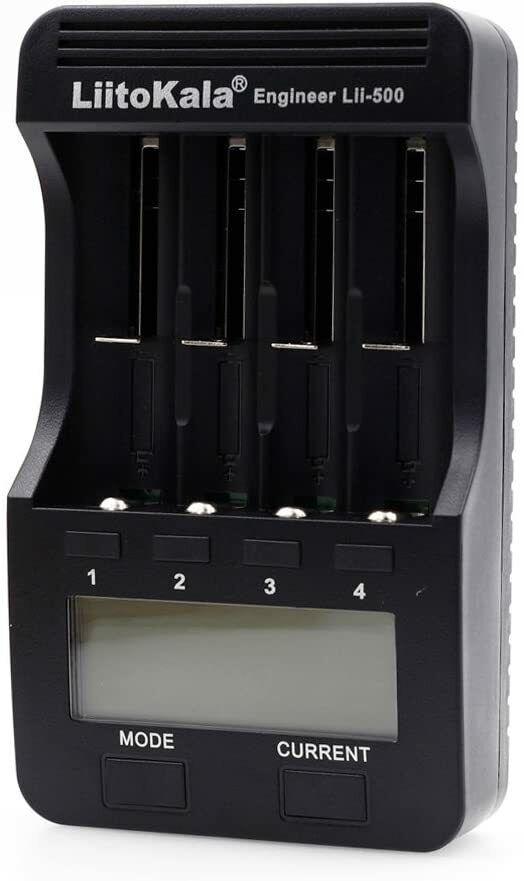 LiitoKala Lii-500 4 Slots Smart Intelligent Battery Charger for 3.7V Li-ion USA