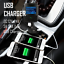 thumbnail 3 - Bluetooth FM Transmitter Hands-free Car Kit Radio Receiver MP3 Audio Adapter