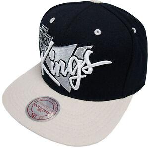 Mitchell-amp-Ness-Los-Angeles-Kings-GORRA-SNAPBACK-nz03z-TRIANGULO-Guion-Beisbol