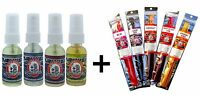 Blunteffects/blunt Effects 4 Assorted Air Freshener + 5 Assorted 11 Incense Set