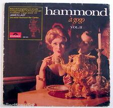ONE 33 R.P.M. RECORD, JAMES LAST, HAMMOND À GOGO, VOLUME II