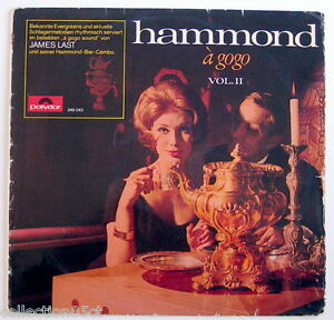 ONE-33-R-P-M-RECORD-JAMES-LAST-HAMMOND-A-GOGO-VOLUME-II