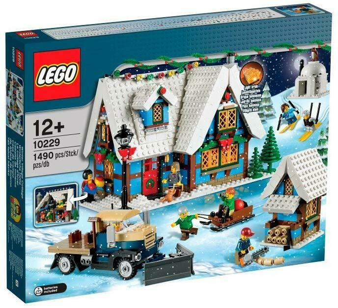 LEGO Creator 10229-Winter Villag new sealed NO PAYPAL