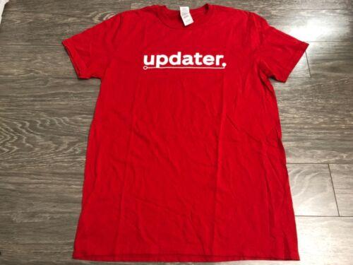 Nintendo Switch Updater T-shirt Medium Used