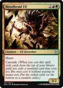 MTG-x2-Bloodbraid-Elf-Eternal-Masters-Uncommon-Multi-NM-M-Magic-the-Gathering