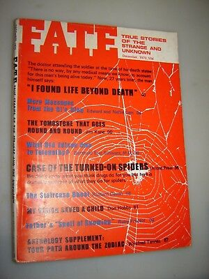 Fate Magazine - December 1970 issue #249 - Life beyond Death - Spiders  Astrology | eBay