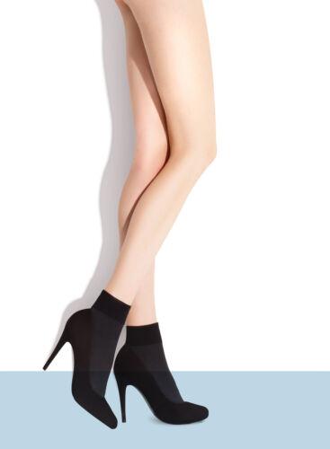 Fiore Ria Ankle High Socks 60 Denier Opaque Microfibre 6 Different Color Choices