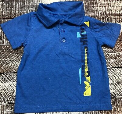 NEW Quiksilver polo collar shirt little boys boy sz 2T or 3T or 4T  blue black