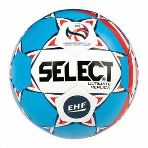 Select Handball Ultimate Replica EC 2020 bleu/blanc taille 3 10er Set Nouveau!